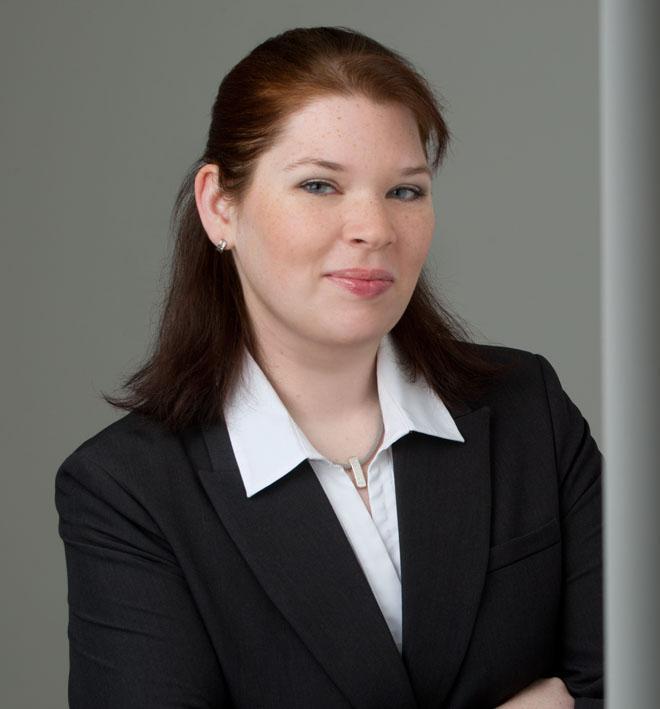 Kennt sich mit Lebensläufen aus - Karin Floder.